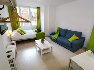 Photo for Mena Studio apartment in Centro with WiFi, air conditioning & lift.