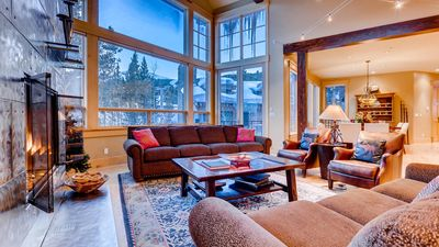 Photo for Kokomo Lodge: Luxe Ski-In/Out Home w/ Hot Tub, Pool Table, Elevator & Shuttle