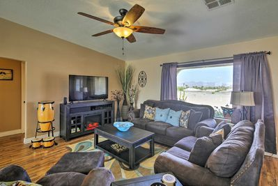 This beautiful home is perfect for 6-8 guests, with all the essentials of home!
