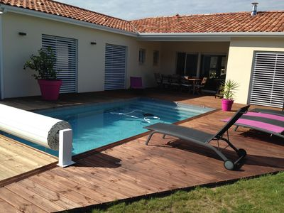 Photo for HOUSE 6 People, Nice benefits, Swimming pool with salt and heated