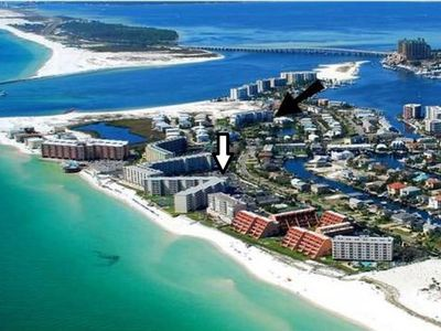 Photo for Beach front Condo with gorgeous views of the Gulf and 300 Feet of Private Beach