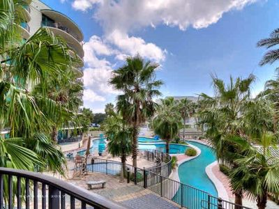 Photo for Phoenix-on-the-Bay 2 - 2206 Stunning 2 bedroom condo overlooking pool