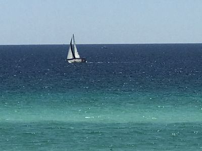 Photo for Beautiful Beach Front, Balcony views, Paradise in Destin