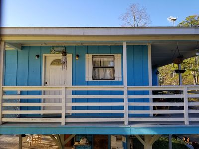 Photo for Waterfront Vacation Home located on a manmade bayou in a wildlife preserve.