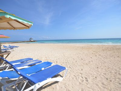 Photo for WALK TO BEACH IN MINUTES! COOK/MAID! POOL! CASUAL JAMAICA -Miss Ps Place- 2BR