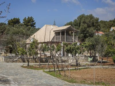 """Photo for Ploes Luxury Cottages """"Eleni"""" overlooking the sea"""