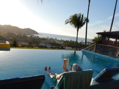 Photo for Best value for small family with views and pool at rooftop in perfect location