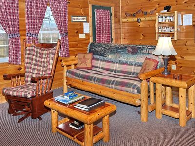 Photo for Charming Hocking Hills Cabin In Serene Valley w/Game Room, Close to HH St. Park