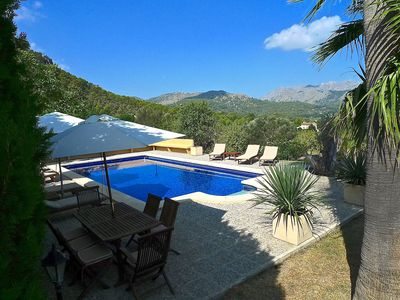 Photo for Luxury Villa on 50,000.sqm w/ private pool and breathtaking  mountainview