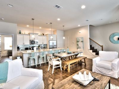 Photo for Beautifully Decorated Luxury Beach Home - Community Pool - Easy Walk to Beach and Gulf Place