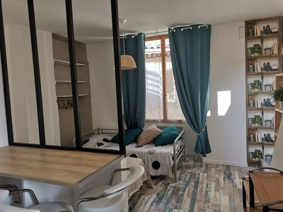Photo for Furnished studio 25 m2 with roof terrace