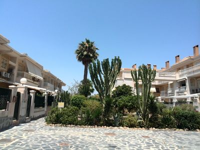 Photo for Centrally located house, terrace,close to the beach and center, airco, free wifi