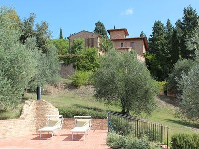 Photo for Old villa nestled in the hills of Chianti