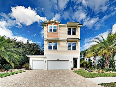 Photo for Experience Vilano beach like the locals do in this gorgeous new ocean view house!