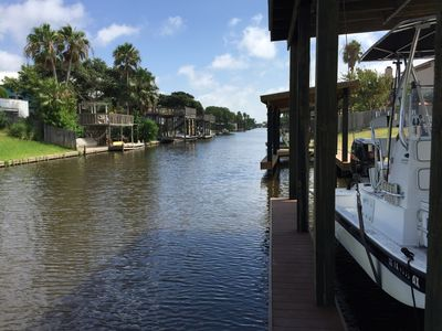 Photo for New Bay View Luxury Home w/ Boat Dock On 1st Canal & Private Swimming Pool