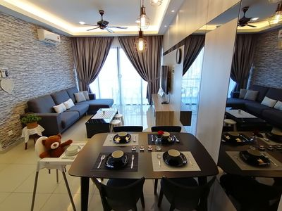Photo for 1 bedroom condominium, 1 to 6 guests, 1 bath room, living and kitchen area.