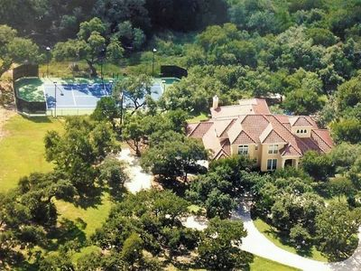 Photo for Vacation In Your Own Private Tennis Resort And Backyard Oasis In The Trees!