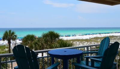Photo for Remodeled Beachfront🌞🌞Destin Towers' BEST⛵ ⛵HGTV Worthy🌴🌴Curved TV