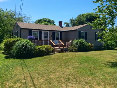 Photo for 3 Bedroom 1 Bath With Central AC 1 Mile From East Matunuck Beach