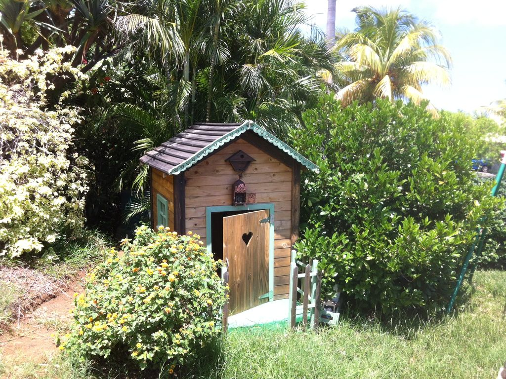 Beautiful Creole villa exceptional ocean view Pool Jacousi West ...