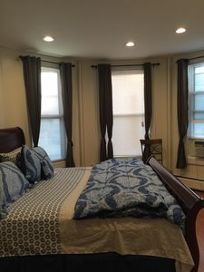 Photo for Elegant 3BR and 1BA Apartment 20 mins to NYC with Car Parking