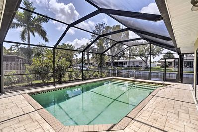 Dive into a North Fort Myers retreat at 'Pacific Dream,' a vacation rental house!