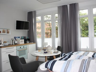 Photo for KAJÜTE + timeless, high-quality, maritime, quiet - house KarlsRUHE - simply beautiful!