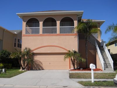 Photo for Luxury Waterfront Home: Private Beach, Private Heated Pool, Dock, WiFi