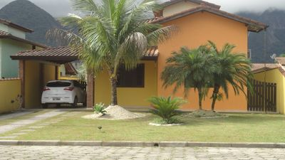 Photo for cozy house, private pool, air conditioning and sea view