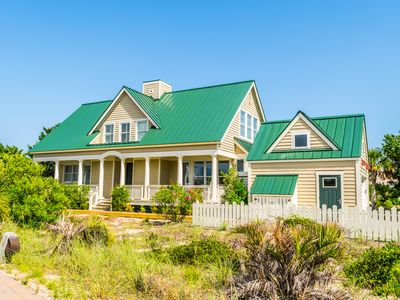 Photo for Sandy Shamrock New for 2018 and renovated! 4 BR/ 4 BA home with beach views