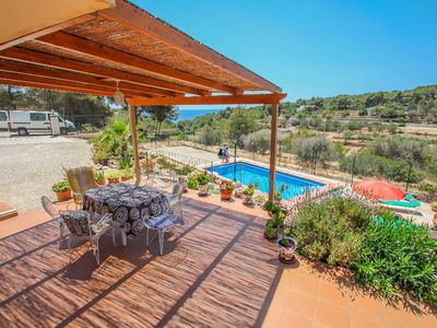 Photo for Dos Soles  - sea view holiday home with private pool in Costa Blanca