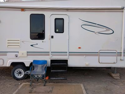 Photo for Spacious camp trailer with wifi and full bathroom