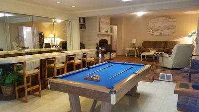 Photo for Central Charlotte Home With 13' Bar, Pool Table & Arcade