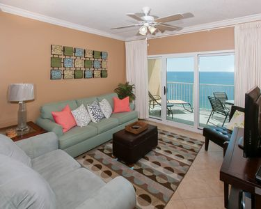 Photo for Recently redecorated! Updated, clean and comfortable! Walk to all of the GS fun!