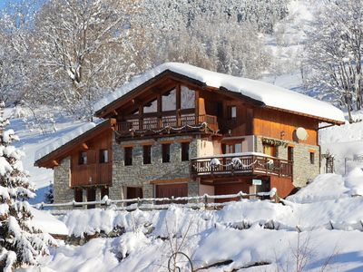 Photo for Comfortable chalet located in a genuine village in the Savoyard region of the Trois Vallées