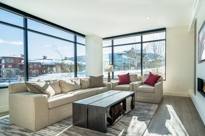 Living Area - Welcome to Park City! This all-suite condo in the Lift community is professionally managed by TurnKey Vacation Rentals.