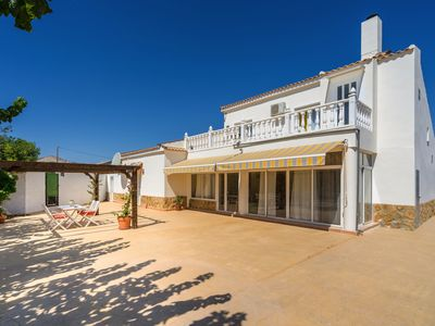 Photo for Beautiful modern 4 bed villa & private pool sleeps 9-10  persons Aspe (Elche)