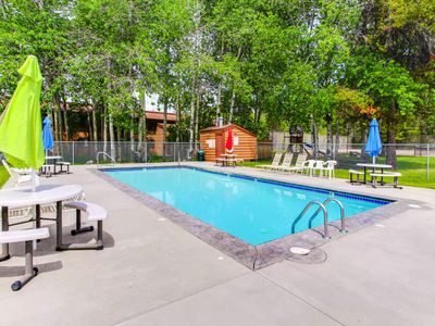 Photo for Mountain condo w/ shared hot tub, pool, gym, & more - close to downtown & lake!