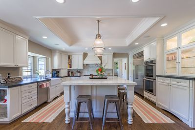 Enjoy the gourmet chef's kitchen with all the amenities