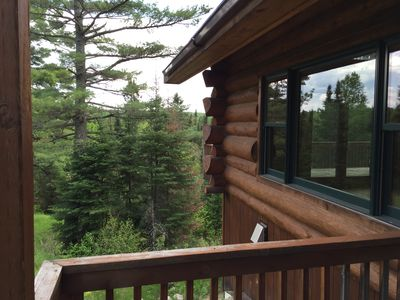Home is elevated above the tree line, excellent for bird watching