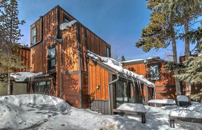 Photo for Perfect for small families! Walk to town or lift at Peak 9