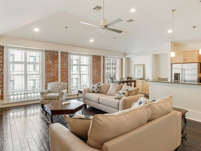 "Photo for ""A Stone's Throw"" from French Quarter-Modern Charm Gorgeous CBD Condo w/Parking"