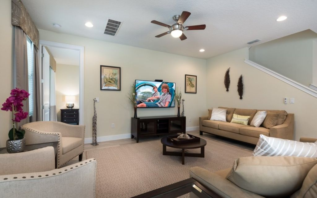 Encore Resort 39 - private pool, theater room, game room & free shuttle to parks - Eight Bedroom House, Sleeps 16