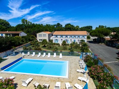 Photo for LOGIS DE LA PALMERAIE - heated pool -11 VILLAS OF 70 m2 - villa N ° 3