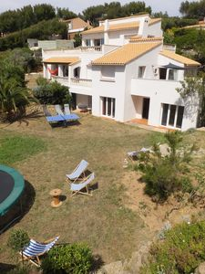 Photo for Ground garden villa, quiet and roomy located in the sea 50m