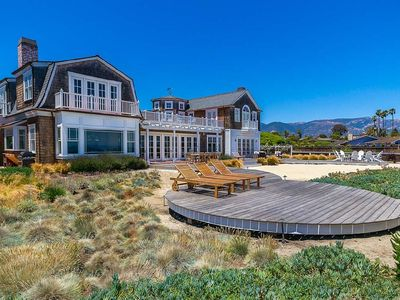 Magnificent Oceanfront Private Beach Pool 5 Bed 7 Bath Santa Barbara Complete Home Design Collection Epsylindsey Bellcom