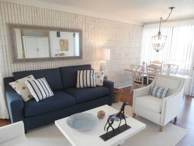 Photo for GORGEOUS 2BR CONDO W/ OCEAN VIEWS STEPS TO BEACH & COMMUNITY POOL