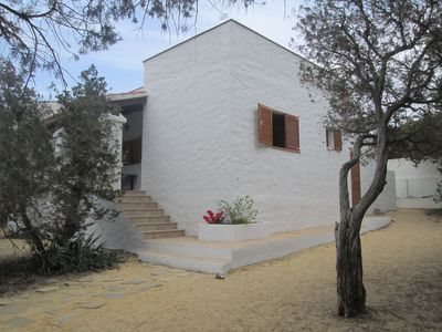 Photo for Villa near the beach with enclosed garden. Shops 200m rent from May to October