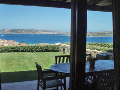 Photo for Modern holiday house with garden and great panoramic sea views