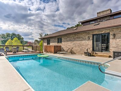 Photo for NEW! Family Home w/ Pool, Ping Pong & Fire Pit!